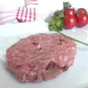 Hamburguesa - De tomate seco y albahaca